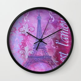 It's Love Wall Clock