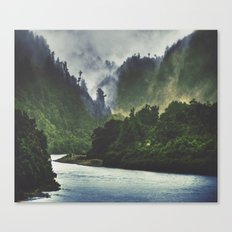 The Spirit Of The River Canvas Print