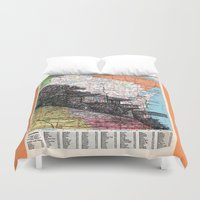wisconsin Duvet Covers featuring Wisconsin by Ursula Rodgers