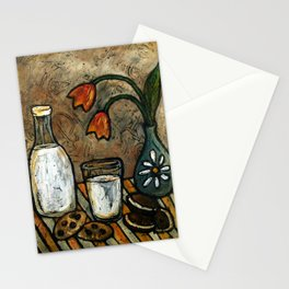 Milk andCookies Stationery Cards