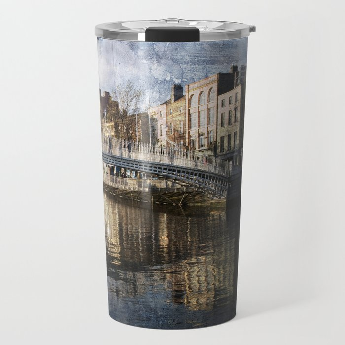 Ha'PPeny Bridge Travel Mug