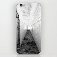 poland iPhone & iPod Skins featuring Abandoned factory Rybnik, Poland by aphelpsphoto
