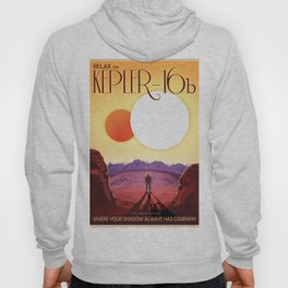 Visions of the Future - Kepler 16-b (Where your Shadow Always has Company) Hoody