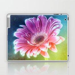 The Gerbera Rainbow Laptop & iPad Skin