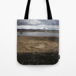 Iceland - Myvatn Tote Bag