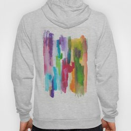 180812 Abstract Watercolour Expressionism 3 Hoody