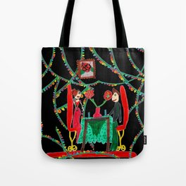 Christmas Dinner | Kids Painting Tote Bag