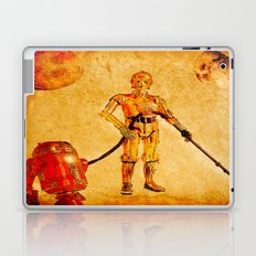 Cleaning in the space Laptop & iPad Skin
