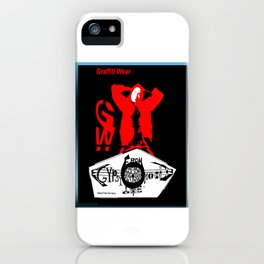G. W. GYPSY FROM THE HOOD iPhone Case