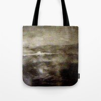 scotland Tote Bags featuring Scotland  by Maria Julia Bastias