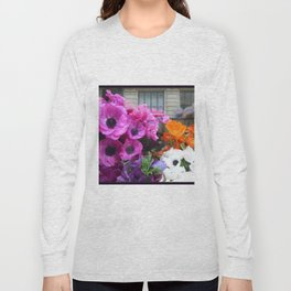 Flower Shop Window Long Sleeve T-shirt