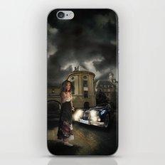 Lady of the night iPhone & iPod Skin