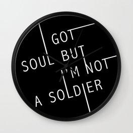 I Got Soul Wall Clock