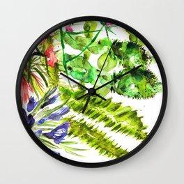 Mediterra Cactus Wall Clock