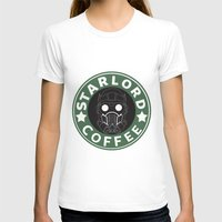 starlord T-shirts featuring Starlord coffee by withoutwax94