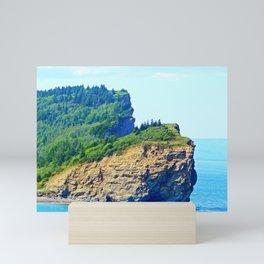 Cliffs of Perce Mini Art Print