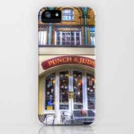 The Punch And Judy Pub Covent Garden iPhone Case