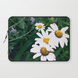Daisies and Russian Sage Laptop Sleeve