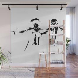 Cowboy Bebop - Spike Jet Knockout Black Wall Mural
