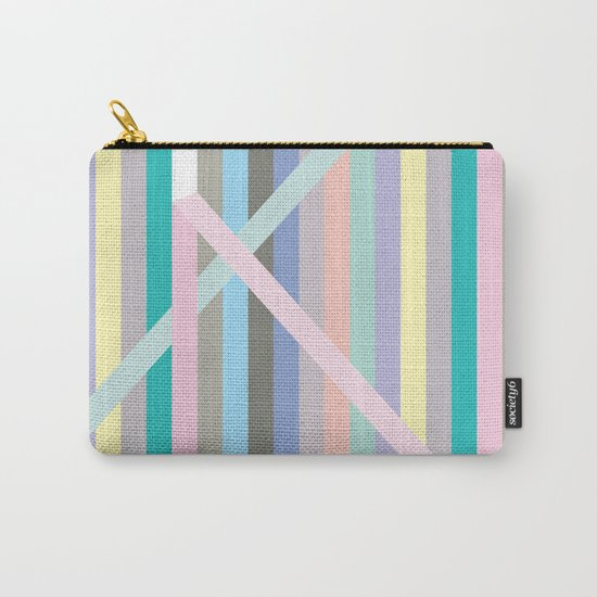 Finespun Stripes Carry-All Pouch