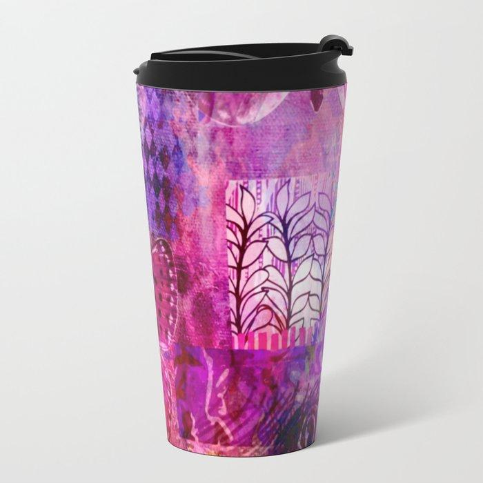 Butterflies Dream In Pink Travel Mug