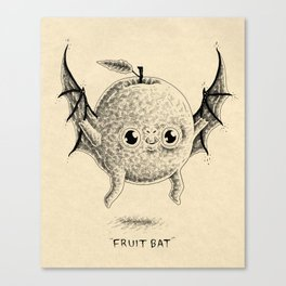Fruit Bat Canvas Print
