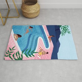 Pool ladies Rug