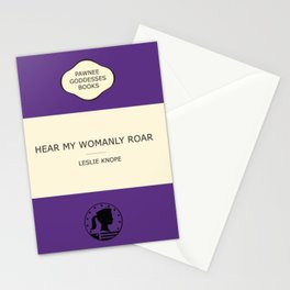 Hear my womanly roar- the book Stationery Cards