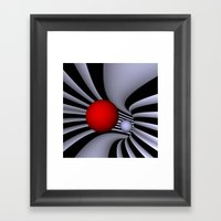 opart tunnel .2. Framed Art Print