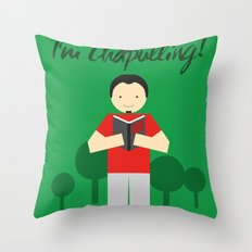Chapulling Throw Pillow