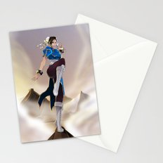 Strongest woman in the world! Stationery Cards
