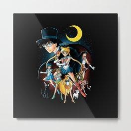 Sailor Girl Metal Print