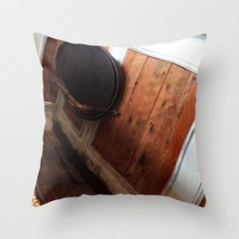 Serving Trays Throw Pillow