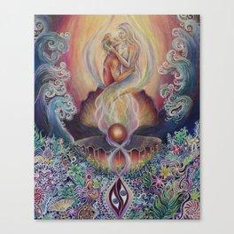 Mni Wiconi Canvas Print