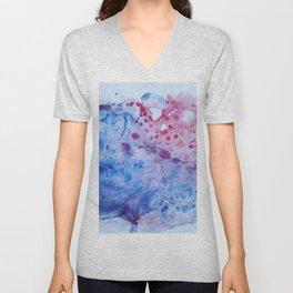Abstract Ocean Unisex V-Neck