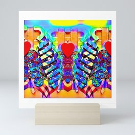 In my heart Mini Art Print