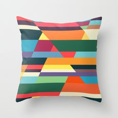 The hills run to infinity Throw Pillow