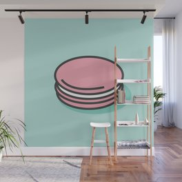 Macaron (Strawberry) Wall Mural