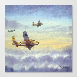 B-25 Mitchell Aircraft Canvas Print