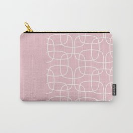 Square Pattern Pink II Carry-All Pouch