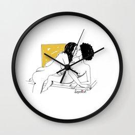 Leserotica OxyDHEA Yellow 01 Wall Clock