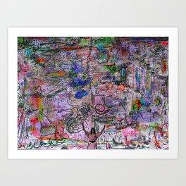 Mother Ganja (take me higher) Art Print
