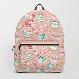 Retro Birthday Cakes Backpack