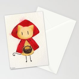 Little Red Riding Stickitty Stationery Cards