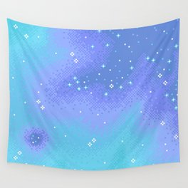 Twilight Nebula (8bit) Wall Tapestry