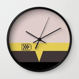 Miles O'Brien - Minimalist Star Trek DS9 Deep Space Nine - Chief  - startrek - Trektangles Wall Clock
