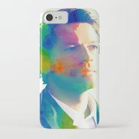 castiel iPhone & iPod Cases featuring Castiel  by mishainmydreams