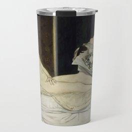 Olympia, Edouard Manet, 1863 Travel Mug
