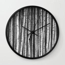 Birch || Wall Clock