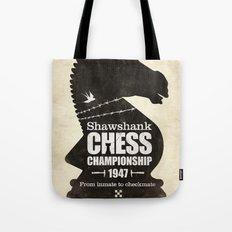 Shawshank Chess Championship Tote Bag